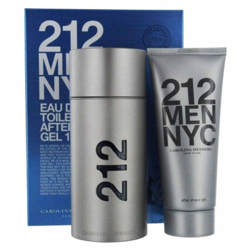 CAROLINA HERRERA 212 Men NYC EDT 100ml Gift Set