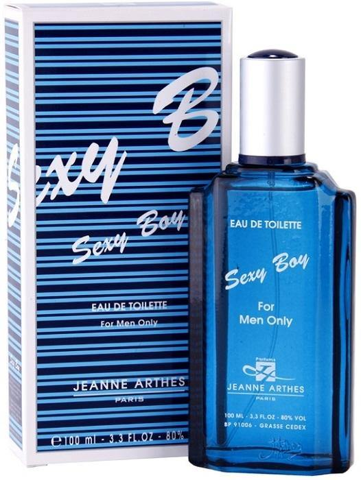 JEANNE ARTHES Sexy Boy Men EDT 100ml