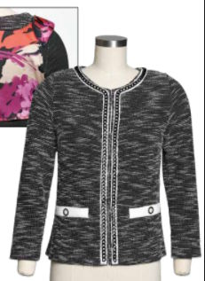 Chanel Inspired Knit Cardigan –  From your Fave T-Shirt Pattern