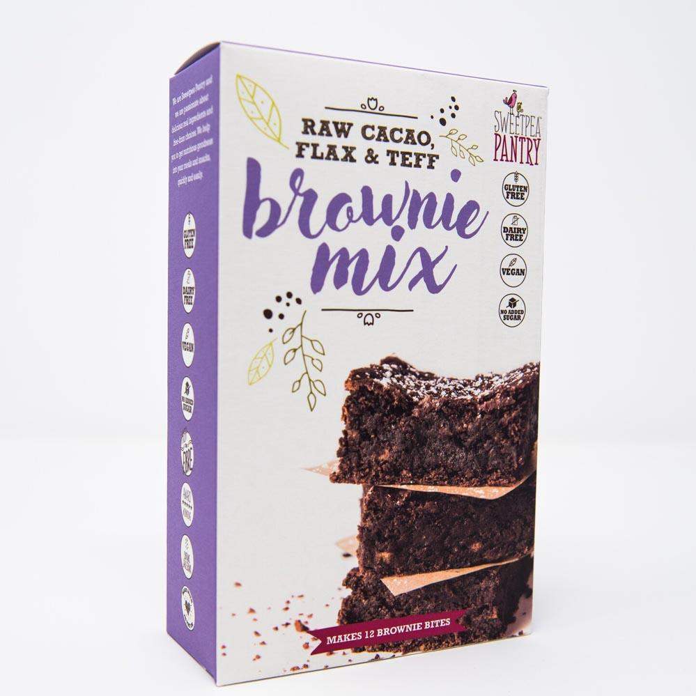 Brownie Mix with raw cacao, teff and flax (gluten free) Sweetpea Pantry