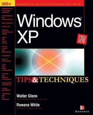 Windows XP Tips & Techniques- 99bookscart-secondhand-bookstore-near-me