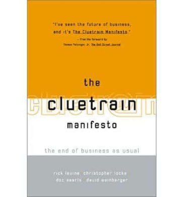 The Cluetrain Manifesto The End of Business as Usual- 99bookscart-secondhand-bookstore-near-me