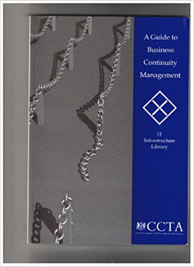 A Guide to Business Continuity Management - IT Infrastructure Library- 99bookscart-secondhand-bookstore-near-me