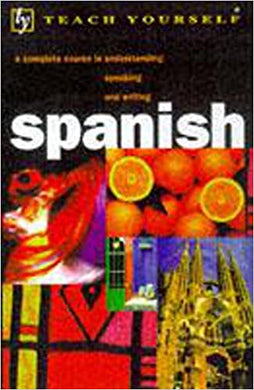 Spanish (Teach Yourself)- 99bookscart-secondhand-bookstore-near-me