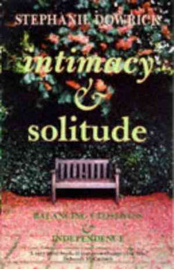 Intimacy and Solitude- 99bookscart-secondhand-bookstore-near-me