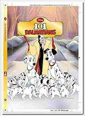 Disney Diecut Classics   101 Dalmations- 99bookscart-secondhand-bookstore-near-me