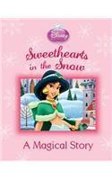 Disney Magical Story   Xmas: Sweethearts in the Snow- 99bookscart-secondhand-bookstore-near-me