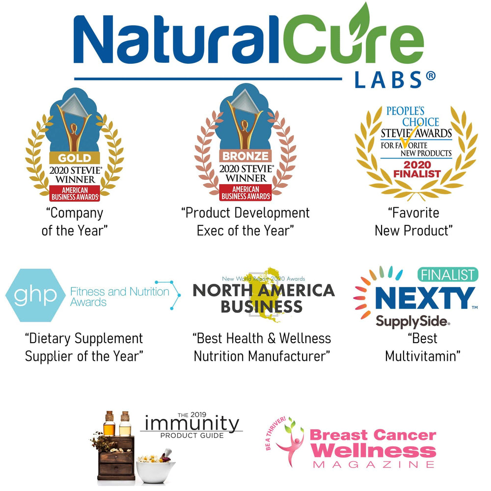 Another Award-Winning Year for Natural Cure Labs