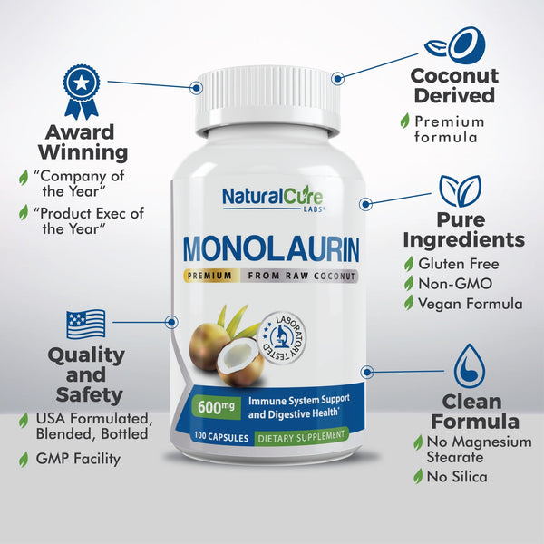 Natural Cure Labs Monolaurin