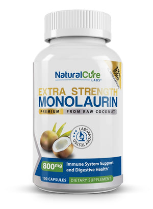 Load image into Gallery viewer, Monolaurin Extra Strength 800mg