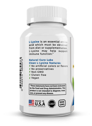 Load image into Gallery viewer, Clean L-Lysine 600mg