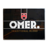 Aluminium paneel OMER. Traditional Blond