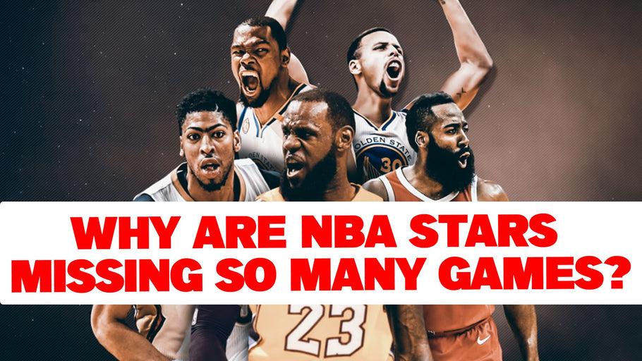 Why are NBA stars missing so many games?