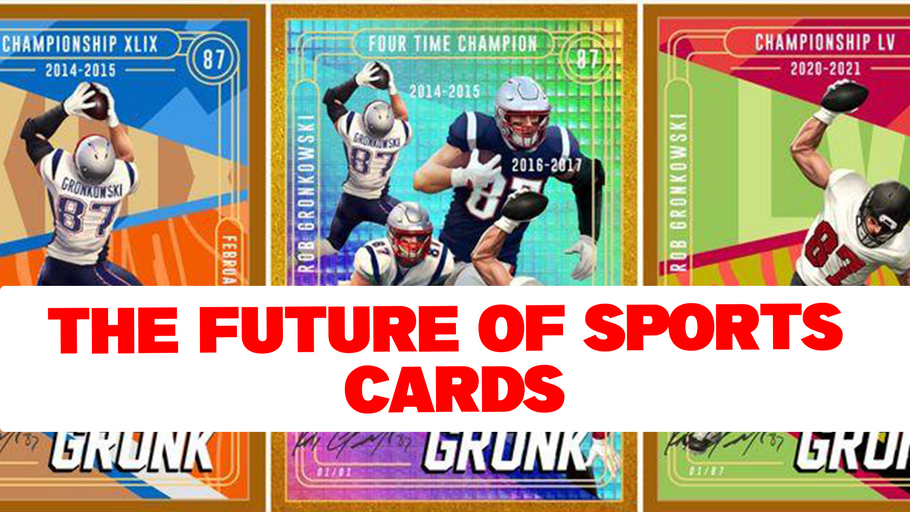 NBA, TOPPS, MLB, AND NFL NFT SPORTS CARDS