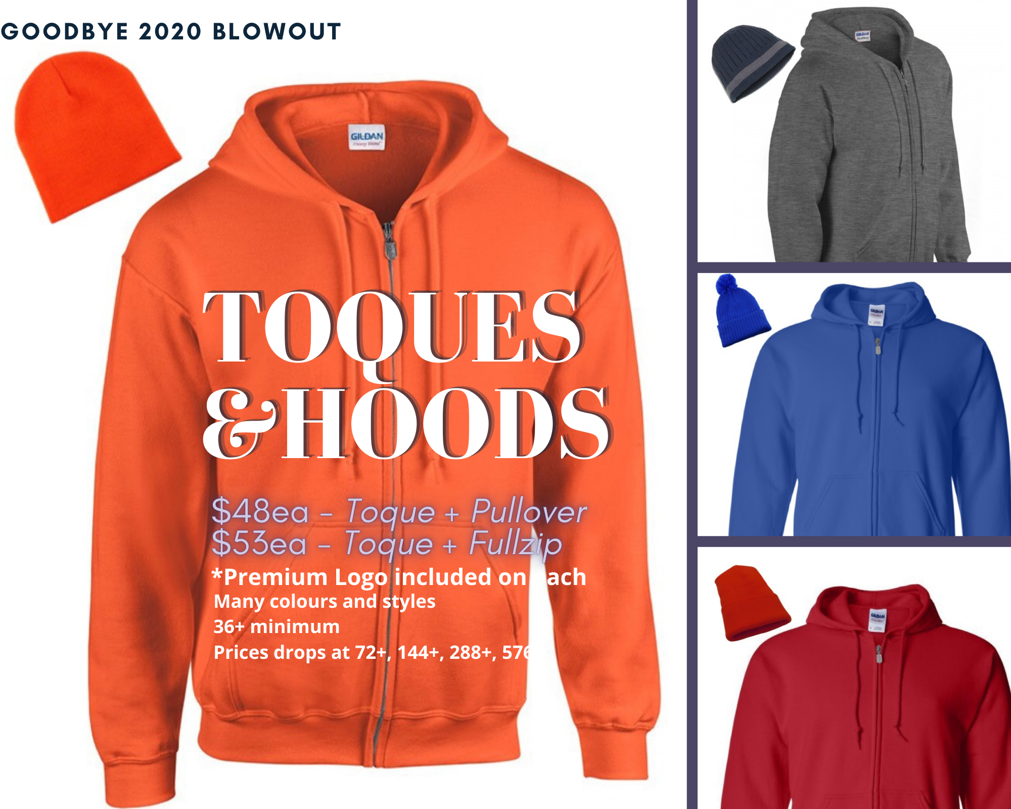 Toques & Hoodies Blowout
