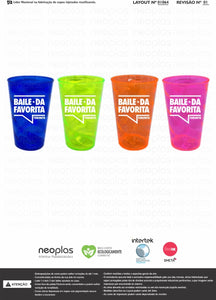 Brazilian Party Cups