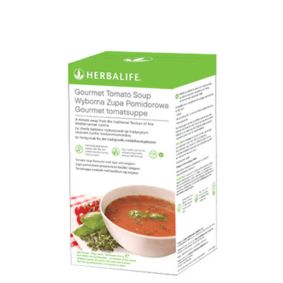 Herbalife Gourmet Tomato Soup - Box of 21 Servings
