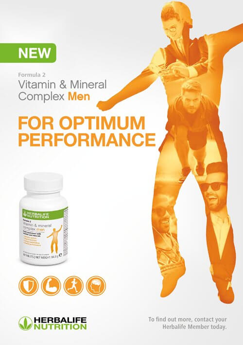 Load image into Gallery viewer, Herbalife Formula 2 Men