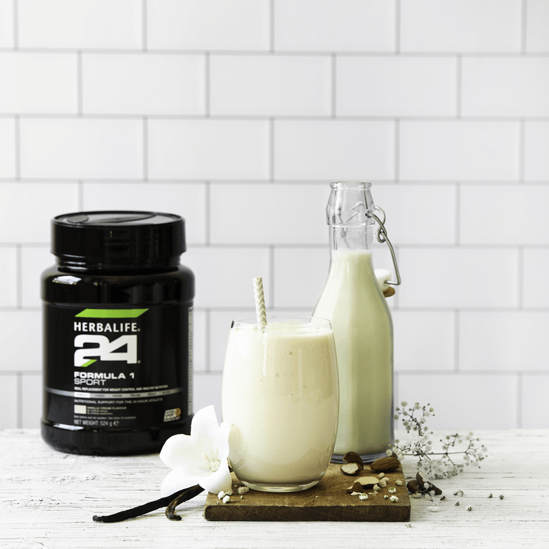 Load image into Gallery viewer, Herbalife 24 - Formula 1 Sport - Vanilla Cream Flavour - 524g