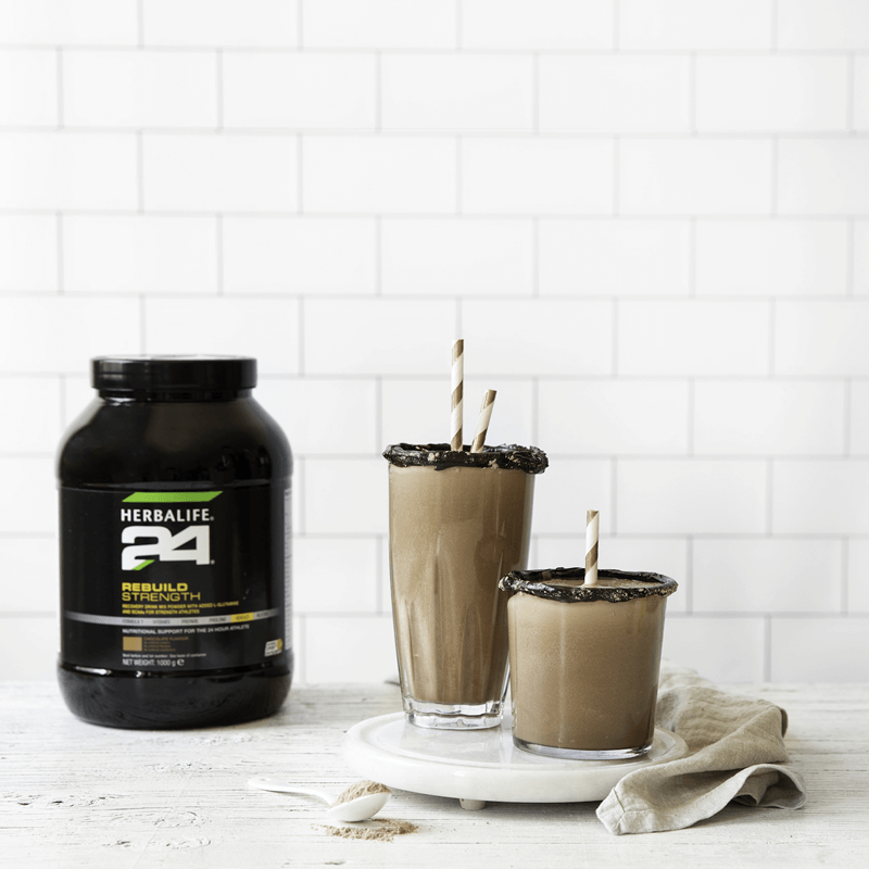 Load image into Gallery viewer, Herbalife 24 Rebuild Strength - Chocolate Flavour - 1000g