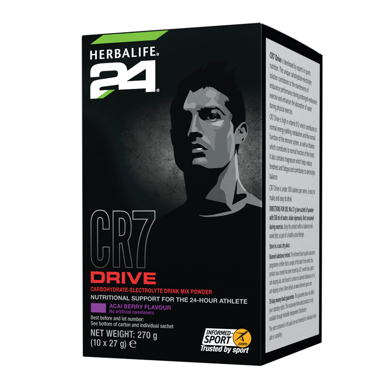 CR7 Drive - Sachets - 10 Servings 27g Each - Acai Berry