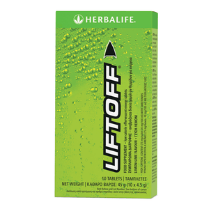 Load image into Gallery viewer, LiftOff  Lemon & Lime - 10 Tablets Per Box