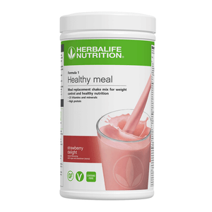 Load image into Gallery viewer, Formula 1 Nutritional Shake Mix Strawberry Delight 550g