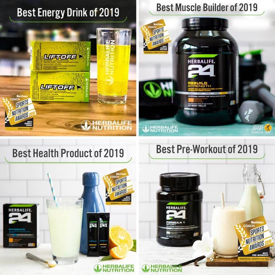 Herbalife Award Winning Products