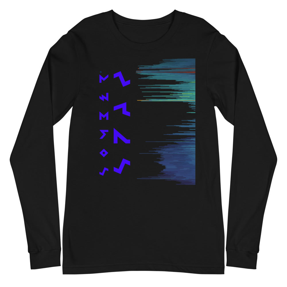 Somber Spaz® Glitch Unisex Long Sleeve Tee
