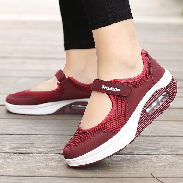 2021 New Casual Women Shoes Sneakers Mesh Light Lady Casual Shoes Breathble Female Vulcanized Shoes Sneaker for Women
