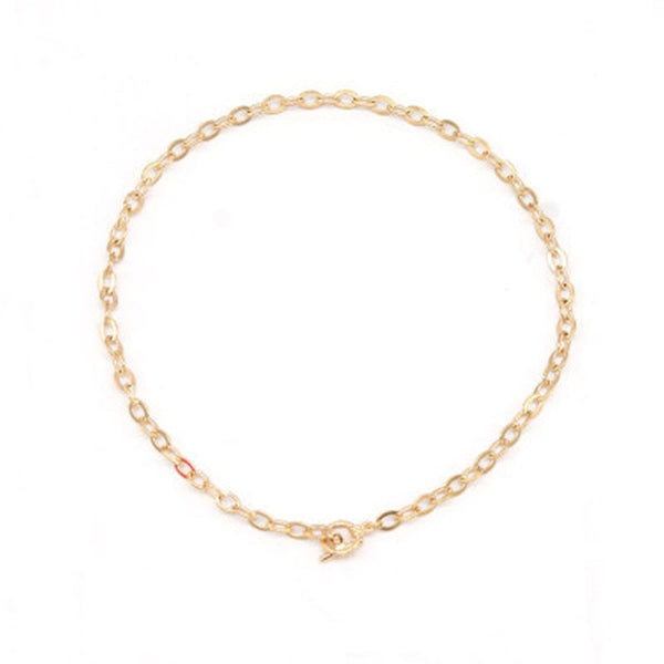 Fashion Link Chain Choker Necklace For Women  Charm Necklace Collares  Jewelry XL066