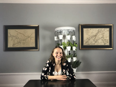 Nutritower has partnered with McGill Masters student Rose Seguin to compare the nutritional value of produce grown in the Nutritower to the ones you buy at the grocery store.
