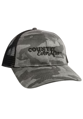 Country Ever After Camo Hat