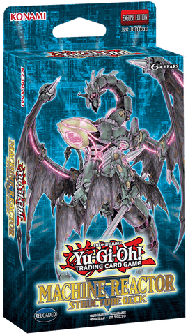 Structure Deck Machine Reactor Yu-Gi-Oh! - Card Universe Online