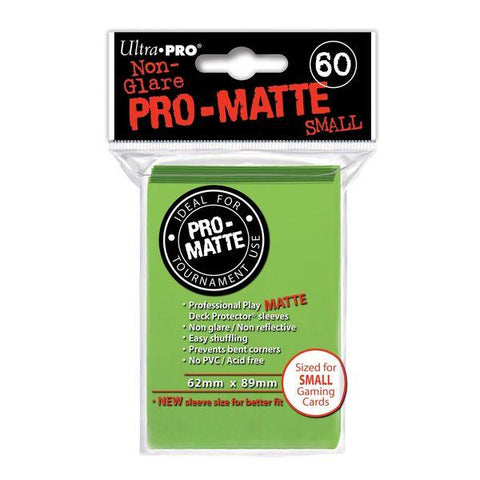 Protectores Ultra Pro Matte Verde Lima Small - Card Universe Online