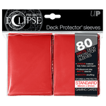 Protectores Ultra Pro Eclipse Red Matte Standard - Card Universe Online