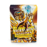 Protectores Dragon Shield Gold Matte Small - Card Universe Online