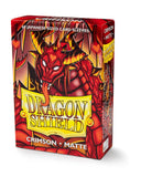 Protectores Dragon Shield Crimson Matte Small - Card Universe Online