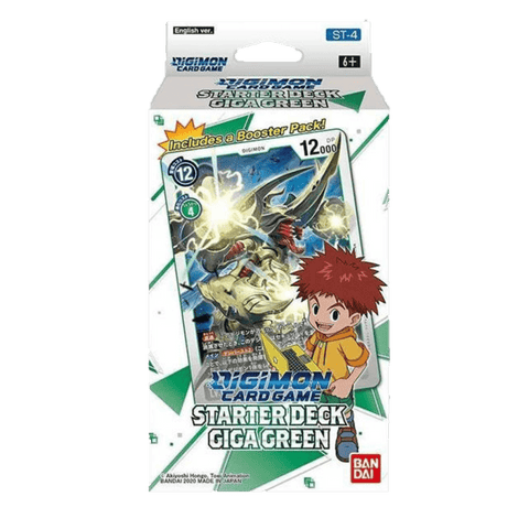 Mazo de Digimon Card Game Giga Green