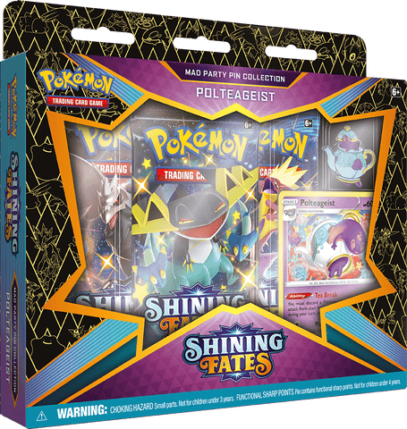 Shining Fates Mad Party Pin Collections Inglés - Polteageist