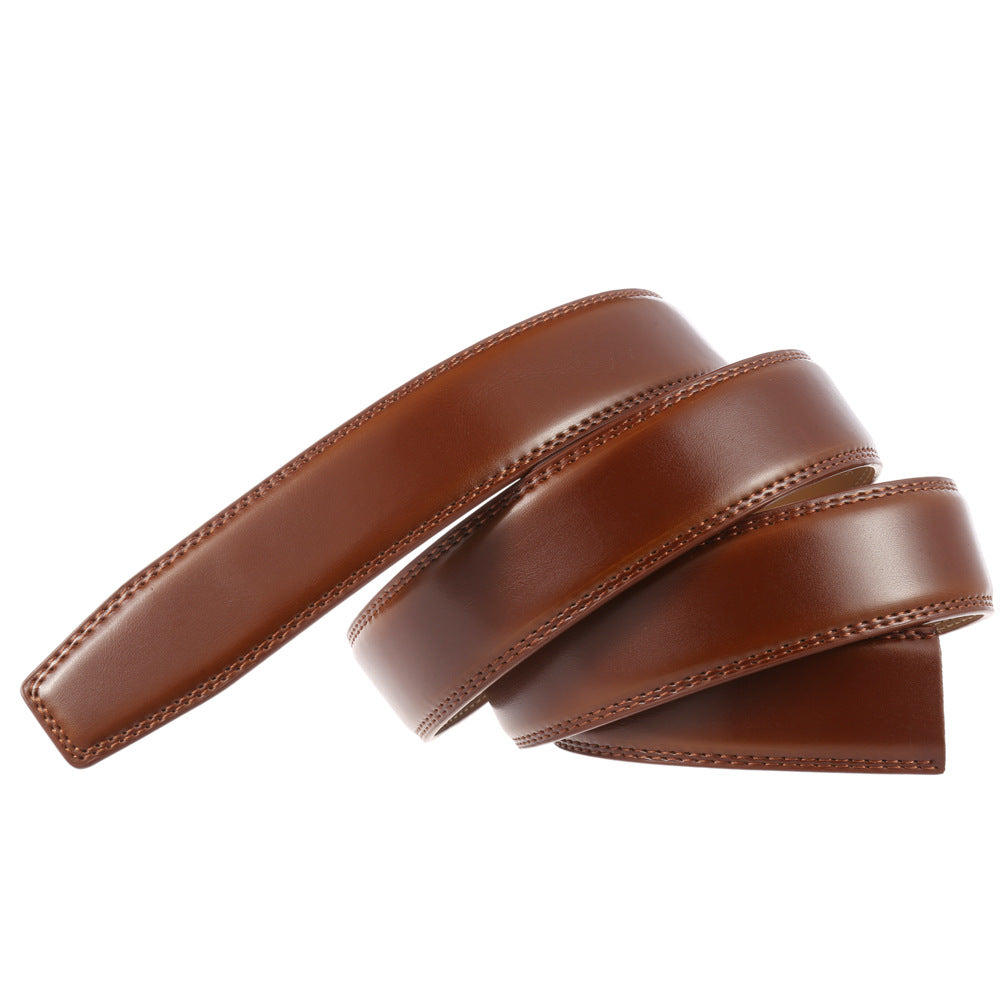 STRAPPED Brown Belt Strap