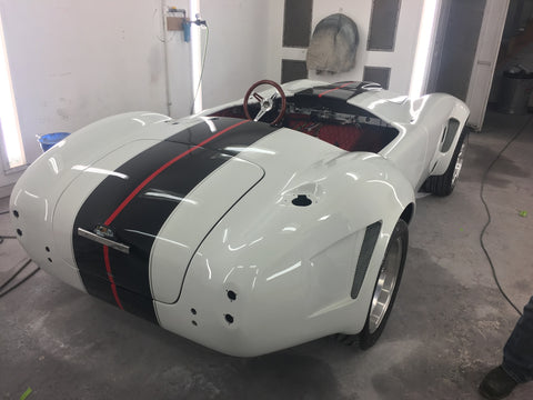 Cobra body and paint