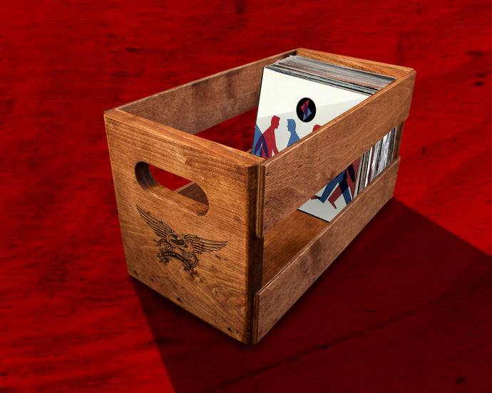 NEW CRATES FOR 45'S NOW AVAILABLE.