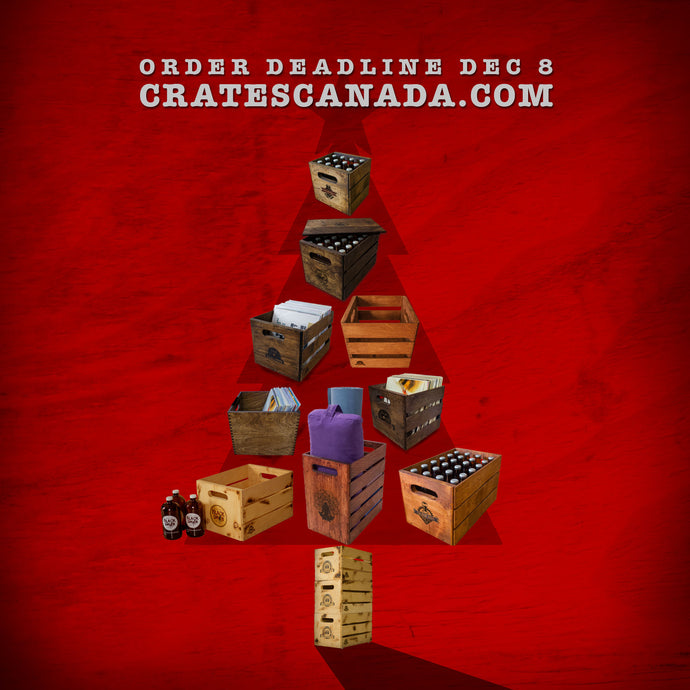 CHRISTMAS ORDER DEADLINE SHORTENED TO DEC 5