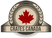 Crates Canada.  Custom crates for records, beer and wine