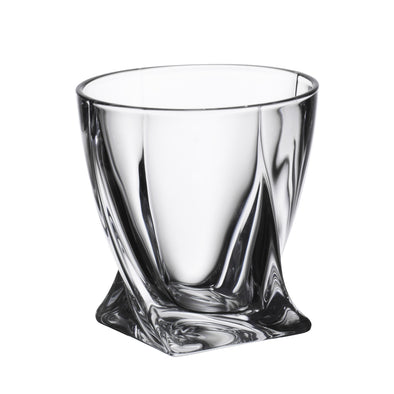 6 verres à whisky quadro 340ml - 374636