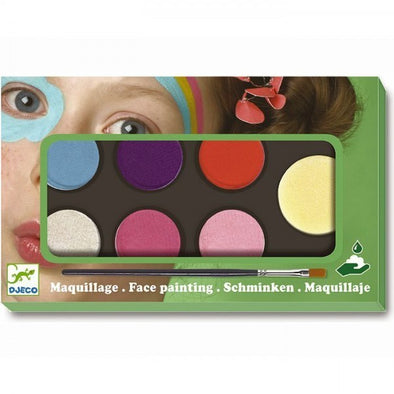 Coffret de maquillage palette 6 couleurs - sweet - dj09231