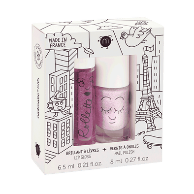 Coffret duo rollette + vernis- Lovely City