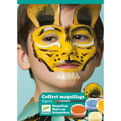 6 maquillages tigres - dj09203