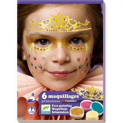 6 maquillages princesses - dj09207